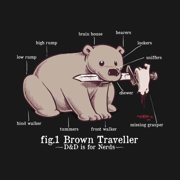 A Brown Traveller