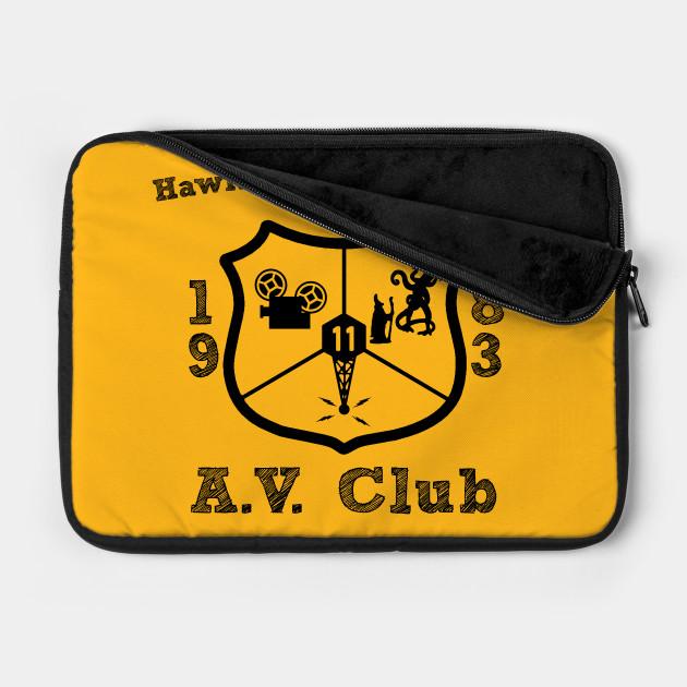 Hawkins Middle School A.V. Club Black