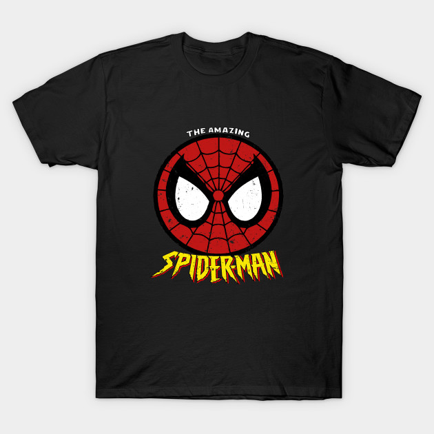 91bd81fb4cd The Amazing Spiderman - Distressed - Spider Man - T-Shirt | TeePublic