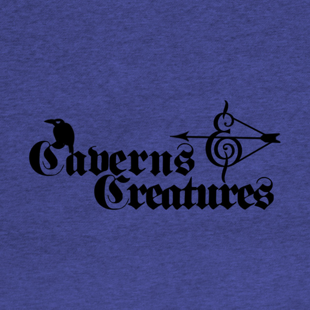Caverns & Creatures Black
