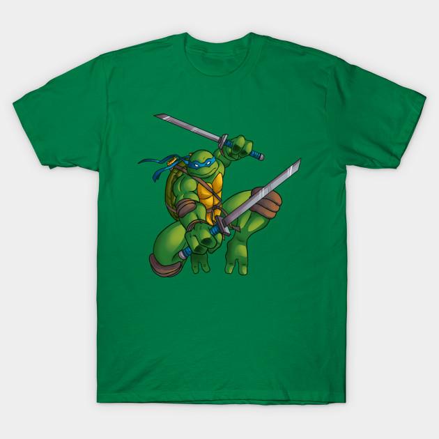 Leonardo From Tmnt 2003 Ninja Turtles T Shirt Teepublic