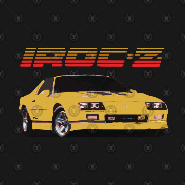 1980's Yellow Chevy Camaro IROC-Z Z28 by b0l0