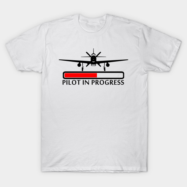 T Pilot Aircraft In Aviation Flying Plane Progress Gift Loading jMqUVLSGzp