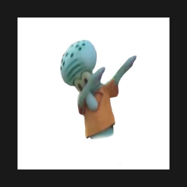 Squidward Dab Spongebob T Shirt Teepublic