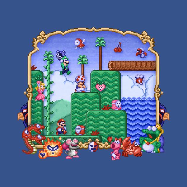 Mario Super Bros, Too