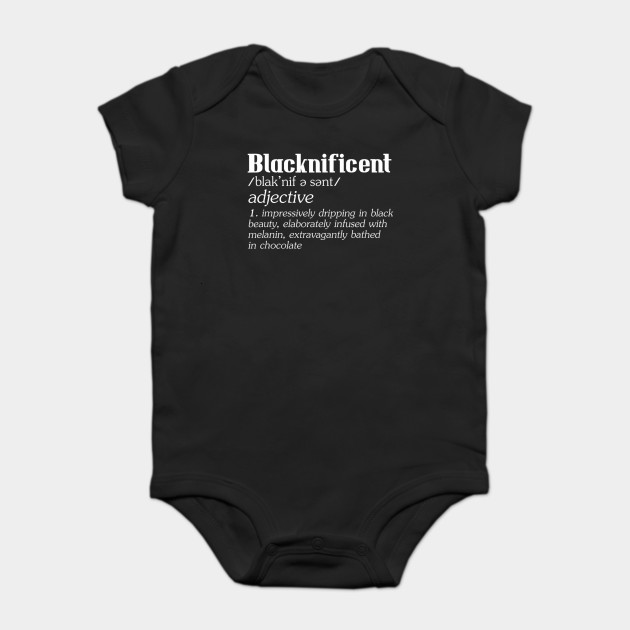 Blacknificent Afro African American Pro Black History Print T-Shirt