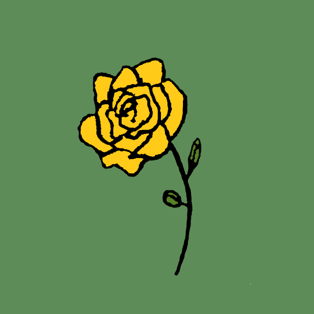 Trench Yellow Rose