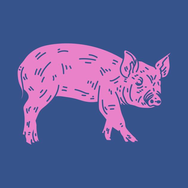 84958b4d Pig Floyd - Pig Floyd - Tapestry   TeePublic