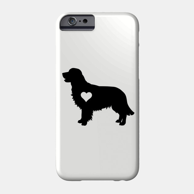 Golden retriever Love Phone Case