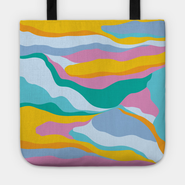 Dreamy Landscape / Colorful Abstraction