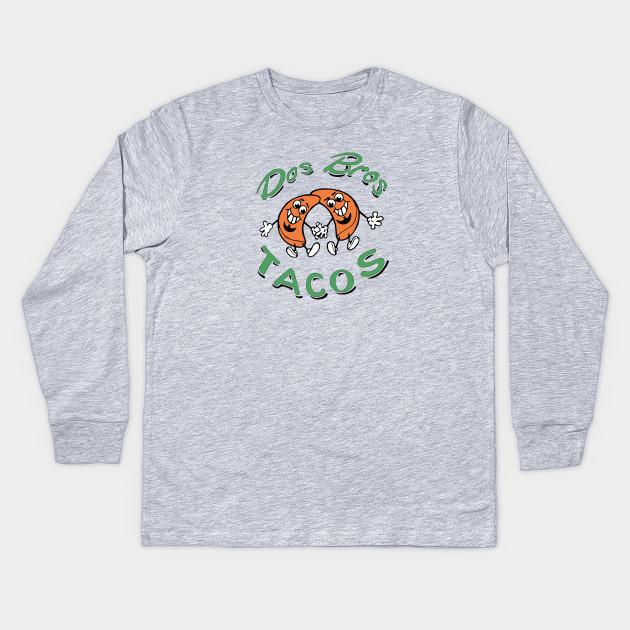 6f79c944 DOS BROS TACOS - Tacos - Kids Long Sleeve T-Shirt | TeePublic