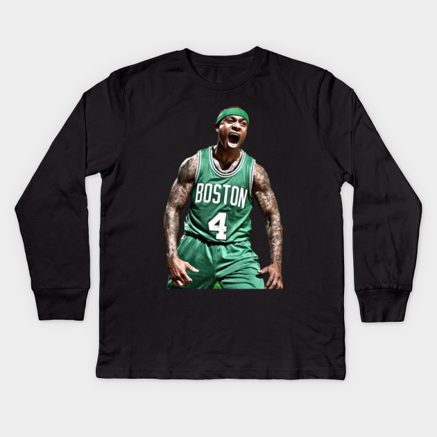 d3a3108e1019e Isaiah Thomas Celtics Shirt - Boston Celtics - Kids Long Sleeve T ...