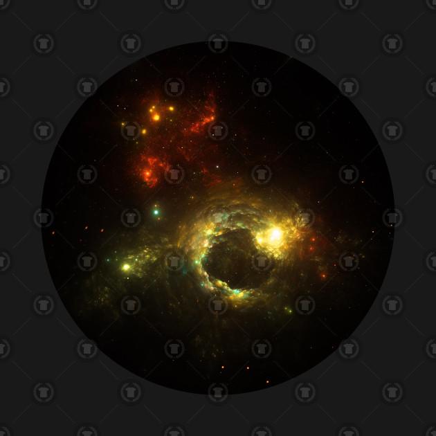 Fiery Space Vortex