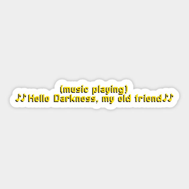 Hello Darkness My Old Friend Subtitles
