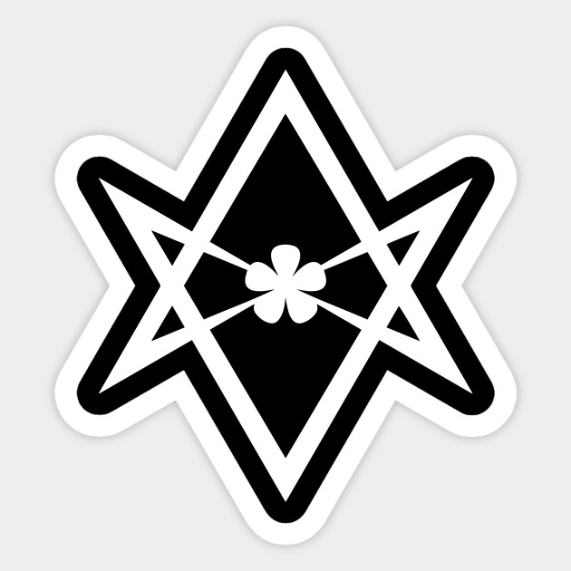 Aleister Crowley Unicursal Hexagram Movie Sticker Teepublic