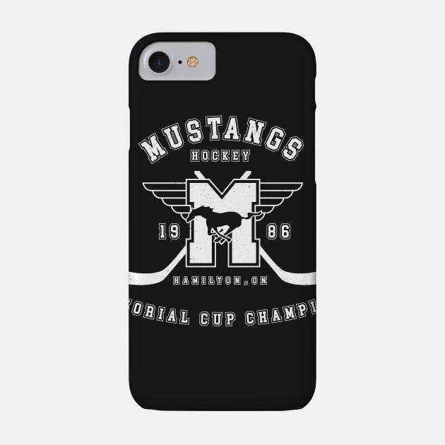 Mustangs Hockey - Memorial Cup Champions (white)