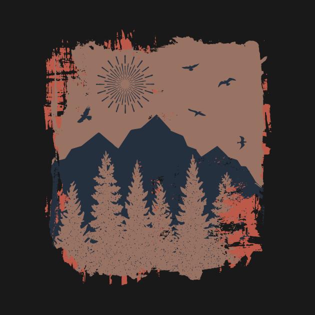 Secret vintage mountains