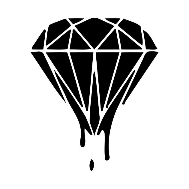 Drippin Diamond: Dripping Diamond - Dripping Diamond - T-Shirt