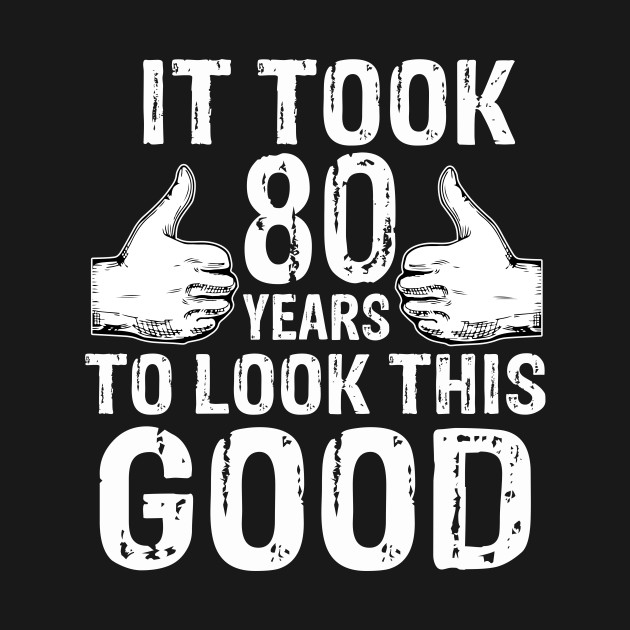 80th Birthday Vintage Made In 1939 Gift Ideas Man T Shirt