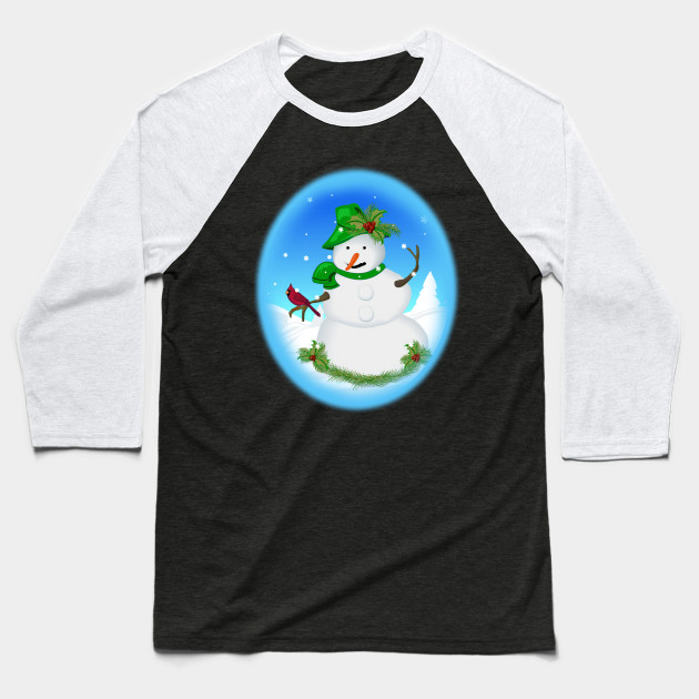 Baseball Snowman Christmas Tree Awesome Gift Unisex Sweatshirt tee