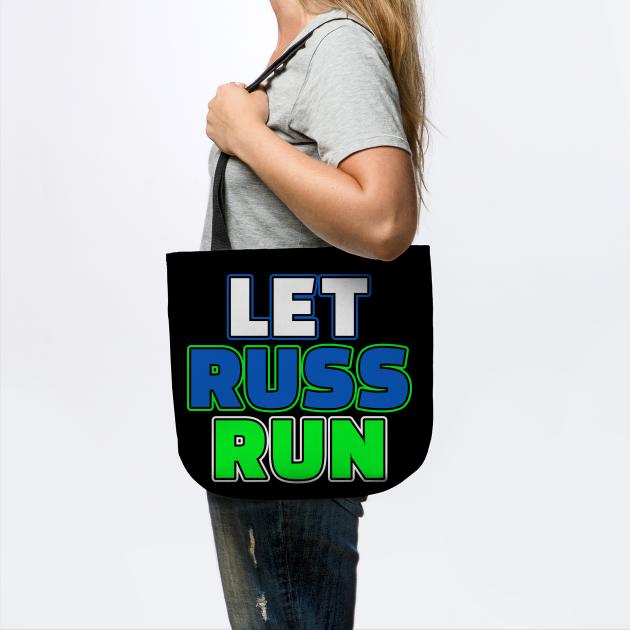 Let Russ Run Seattle Football Fan Gift