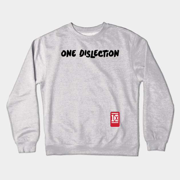 3b4f4b978cfc One Dislection - One Direction - Crewneck Sweatshirt