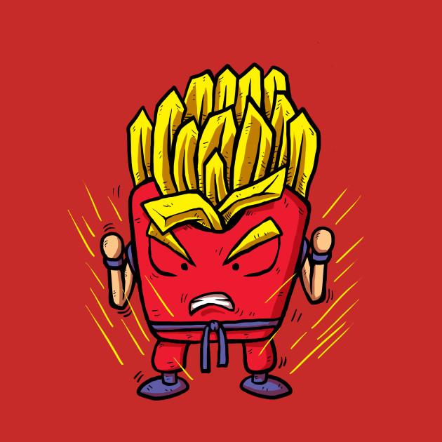 Fries Super Saiyan
