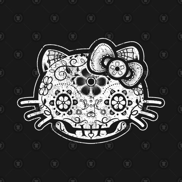 El Día De Los muertos Gatito
