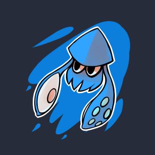 Splatoon Squid Blue t-shirts