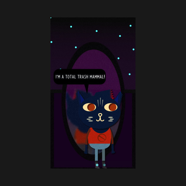 Trash Mammal - Mae Borowski - Night in the Woods