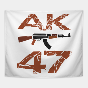 Ak 47 Tapestries | TeePublic