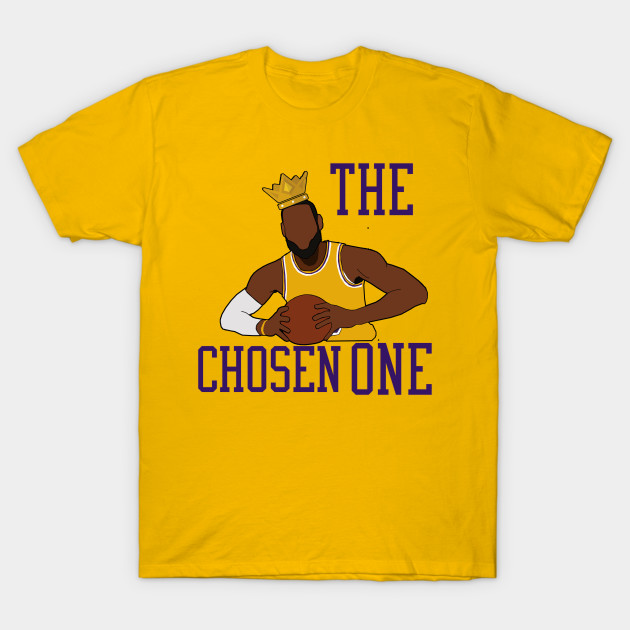 low priced c05c5 9a464 Lebron James 'The Chosen One' - LA Lakers