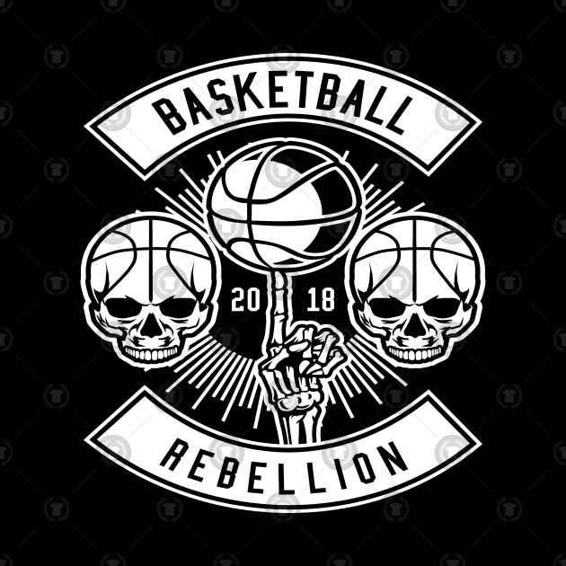 BASKETBALL T-SHIRT Basketball Rebellion