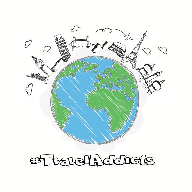 Travel Addicts Logo