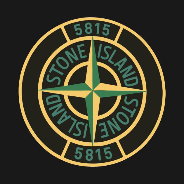 stone island logo design t-shirt - stone island logo cool brand