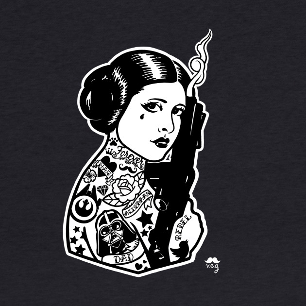 Rebel / Princess / Carrie Fisher / Star Wars / Leia