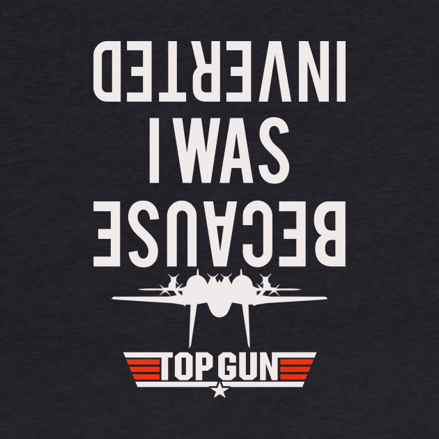 BECAUSE I WAS INVERTED - TOPGUN