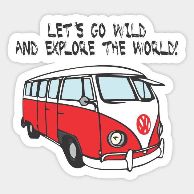 Vw t1 volkswagen t1 sticker teepublic 1931603 1 thecheapjerseys Choice Image