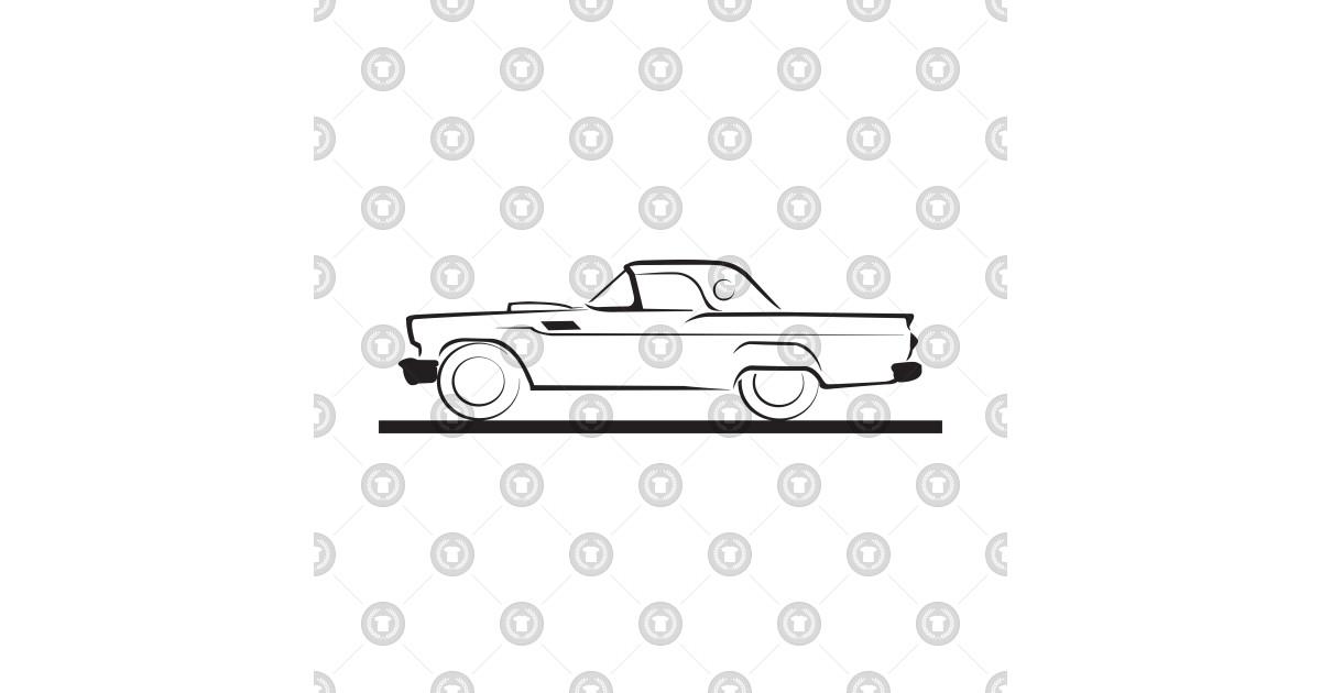 1957 ford thunderbird hard top