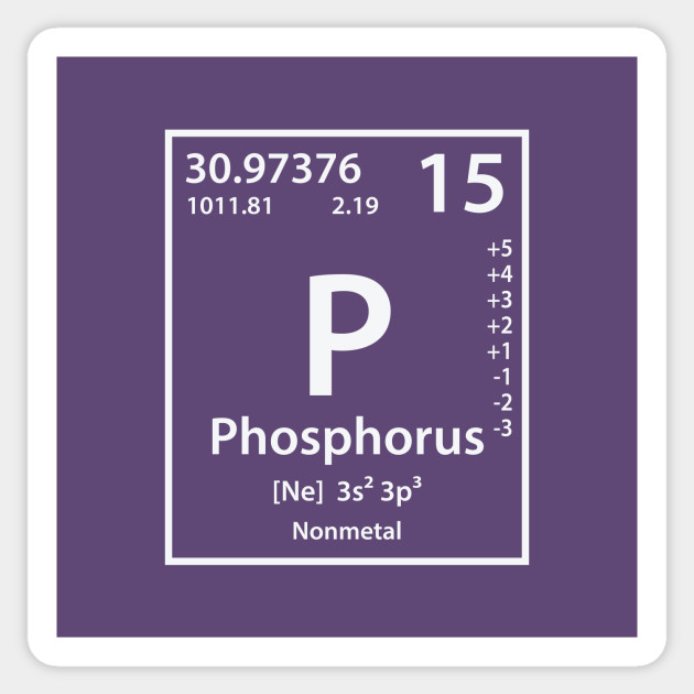 phosphorus is typically found in what ionic form