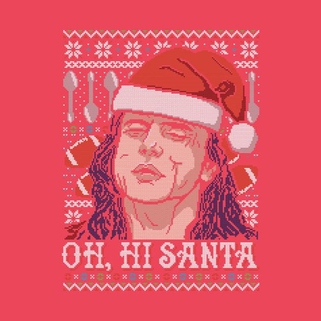 Oh Hi Santa The Room T Shirt Teepublic