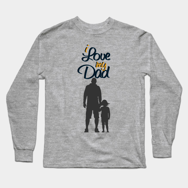64fb58dac I love my daddy, daddy baby shirt, I love my dad, gold glitter baby shirt, daddys  girl, Father's day gift, baby dad bodysuit, Father's day Long Sleeve ...