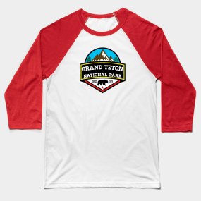 9eb6b5452d4 Grand Teton Baseball T-Shirts