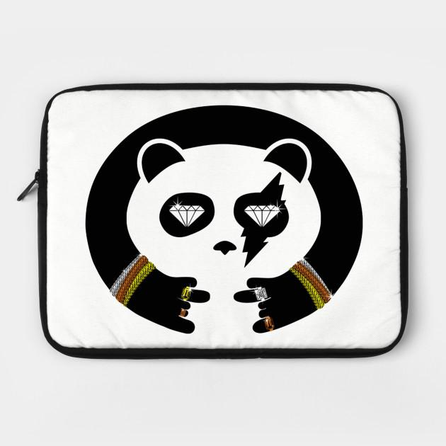 Panda Thug Life Thug Life Panda Laptop Case Teepublic