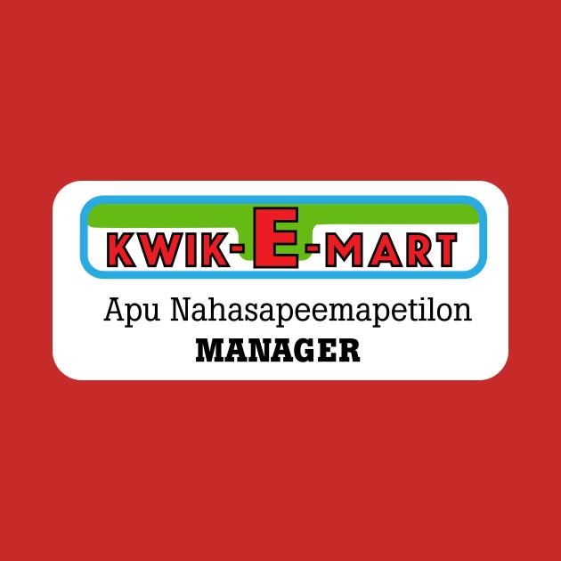 Simpsons Apu Badge Kwik-E-Mart