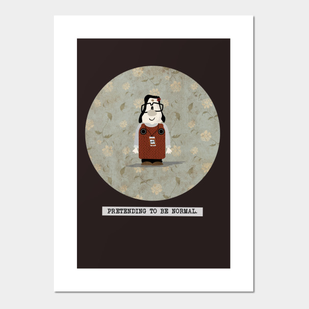 Pretending To Be Normal Mary And Max Mary And Max Posters And Art Prints Teepublic Au