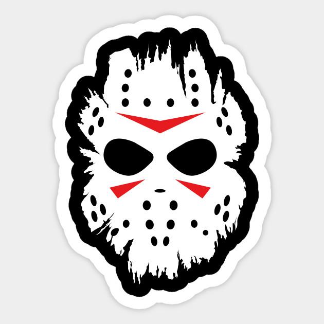 Halloween Jason Mask Cartoon.Jason Mask