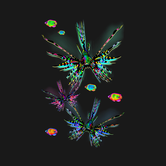 Lionfish Psychedelic Parade