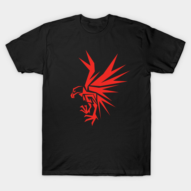 Abstract Red Eagle