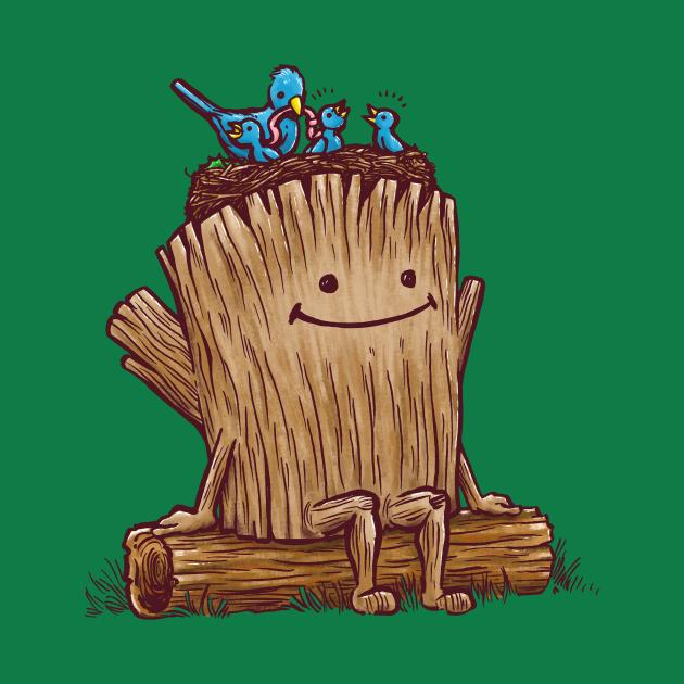 Good Day Log's Bird Nest